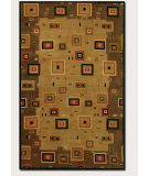 RugStudio presents Couristan Pokhara Timberlake Multi/Earthtones Hand-Knotted, Good Quality Area Rug