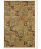 RugStudio presents Couristan Pokhara Serpentine Gold Dust 9950-0145 Hand-Knotted, Better Quality Area Rug