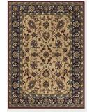 RugStudio presents Couristan Anatolia Floral Ispaghan Cream-Navy 2775-0005 Machine Woven, Good Quality Area Rug