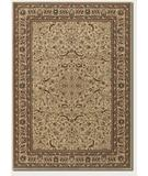 RugStudio presents Couristan Anatolia Medallion Ispaghan Cream 3868-0001 Machine Woven, Good Quality Area Rug