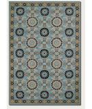 RugStudio presents Couristan Covington Suncrest Azure-Multi 2109-1095 Hand-Hooked Area Rug