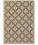 RugStudio presents Couristan Five Seasons Sorrento Cream-Black 3077-0016 Machine Woven, Good Quality Area Rug