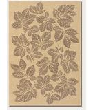 RugStudio presents Couristan Five Seasons Rio Mar Cream-Brown 3079-0012 Flat-Woven Area Rug