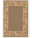 RugStudio presents Couristan Recife Island Retreat Beige-Natural 1222-0722 Machine Woven, Good Quality Area Rug