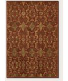 RugStudio presents Couristan Jalore Arabesque Blossom 1777-0023 Rust Hand-Tufted, Best Quality Area Rug