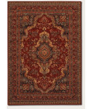 RugStudio presents Couristan Old World Classics Kerman Med Burgundy Machine Woven, Good Quality Area Rug