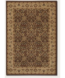 RugStudio presents Couristan Pera Birjand Chocolate/Latte Machine Woven, Good Quality Area Rug