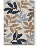 RugStudio presents Couristan Moonwalk Lunar Garden Dark Blue 3242-0003 Area Rug
