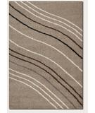 RugStudio presents Couristan Moonwalk Solar Wave Sand 5888-0004 Area Rug