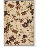 RugStudio presents Couristan Urbane Botanical Garden Sand-Terra Cotta 5712-1012 Machine Woven, Good Quality Area Rug