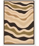 RugStudio presents Couristan Urbane Heat Wave Sand-Brown 5729-0029 Machine Woven, Good Quality Area Rug