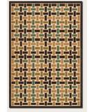 RugStudio presents Couristan Urbane City Blocks Sand-Brown 5748-0148 Machine Woven, Good Quality Area Rug
