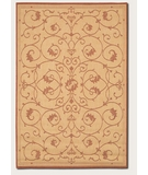 RugStudio presents Couristan Recife Veranda Natural-Terra Cotta 1583-1112 Machine Woven, Good Quality Area Rug