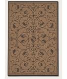 RugStudio presents Couristan Recife Veranda Cocoa-Black 1583-2500 Machine Woven, Good Quality Area Rug