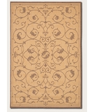 RugStudio presents Couristan Recife Veranda Natural-Cocoa 1583-3000 Machine Woven, Good Quality Area Rug