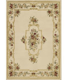 RugStudio presents Dalyn Avalon An-48 Ivory Machine Woven, Good Quality Area Rug