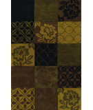 RugStudio presents Dalyn Berkley Bk-205 Black Hand-Tufted, Better Quality Area Rug