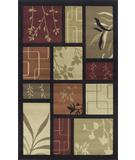 RugStudio presents Rugstudio Kaitlin CR-2 Black Machine Woven, Good Quality Area Rug