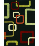 RugStudio presents Dalyn Carlisle Cr-3534 Black Machine Woven, Good Quality Area Rug