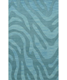 RugStudio presents Dalyn Dover Dv2 Peacock Hand-Hooked Area Rug
