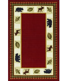 RugStudio presents Dalyn Essence Es-31 Red Machine Woven, Good Quality Area Rug