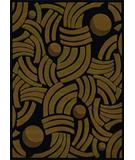 RugStudio presents Rugstudio Sample Sale 25241R Black Machine Woven, Better Quality Area Rug