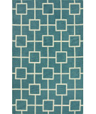 RugStudio presents Dalyn Infinity If4 Peacock Hand-Tufted, Good Quality Area Rug