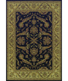 RugStudio presents Dalyn Imperial Ip-2 Black Machine Woven, Better Quality Area Rug