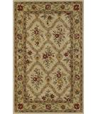 RugStudio presents Dalyn Jewel Jw32 Ivory/Sage Hand-Tufted, Good Quality Area Rug