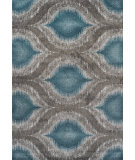 RugStudio presents Dalyn Modern Greys Mg4441 Teal Woven Area Rug