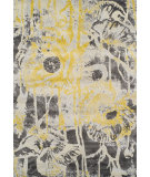 RugStudio presents Dalyn Modern Greys Mg601 Lemon Woven Area Rug