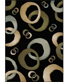 RugStudio presents Dalyn Milano ML-602 Black Machine Woven, Good Quality Area Rug