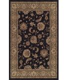 RugStudio presents Dalyn Meridian MN-1330 Black Machine Woven, Good Quality Area Rug