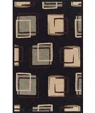RugStudio presents Dalyn Meridian MN-2060 Black Machine Woven, Good Quality Area Rug