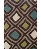 RugStudio presents Dalyn Radiance Rd769 Chocolate Machine Woven, Good Quality Area Rug