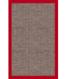RugStudio presents RugStudio Riley EB1 stone 108 tomato Sisal/Seagrass/Jute Area Rug