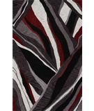 RugStudio presents Rugstudio Sample Sale 27669R Black Hand-Tufted, Good Quality Area Rug