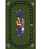 RugStudio presents Dalyn All Stars AL85 Race Track Green Machine Woven, Good Quality Area Rug