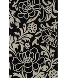 RugStudio presents Dalyn Structures SU-31 Black Hand-Tufted, Good Quality Area Rug