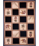RugStudio presents Dalyn Santa Cruz Sz287 Black Machine Woven, Good Quality Area Rug
