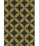 RugStudio presents Rugstudio Sample Sale 49547R Espresso Hand-Hooked Area Rug