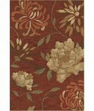 RugStudio presents Dalyn Terrace TE-19 Paprika Hand-Hooked Area Rug