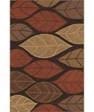 RugStudio presents Rugstudio Sample Sale 49554R Espresso Hand-Hooked Area Rug