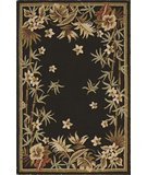 RugStudio presents Dalyn Terrace TE-3 Black Hand-Hooked Area Rug