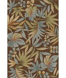 RugStudio presents Dalyn Terrace TE-4 Chocolate Hand-Hooked Area Rug