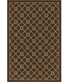 RugStudio presents Dalyn Terrace TE-6 Espresso Hand-Hooked Area Rug