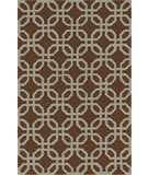 RugStudio presents Dalyn Terrace TE-8 Chocolate Hand-Hooked Area Rug