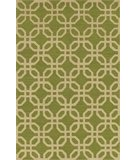 RugStudio presents Dalyn Terrace TE-8 Lime Hand-Hooked Area Rug