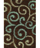 RugStudio presents Dalyn Visions Vn-1 Chocolate Area Rug