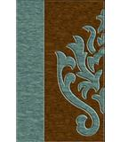 RugStudio presents Rugstudio Riley DL10 Sky-Caramel Machine Woven, Best Quality Area Rug